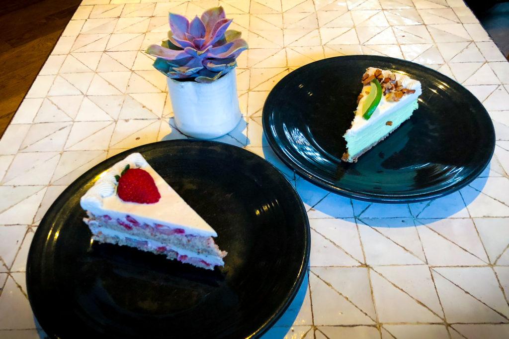 Dessert at Gratitude