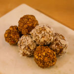 Mango ginger energy balls